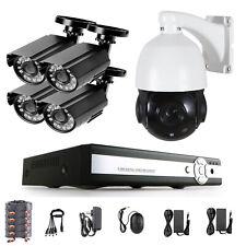 PTZ HD 8CH 1080N 5IN1 DVR 1500TVL HD CCTV IR-Cut CCTV Security Camera System 1TB