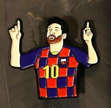 Leo Messi soft enamel pin