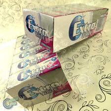 24x10 Extra Bubblemint White Wrigley's Sugarfree Chewing Gum Wrigley Bubble MINT