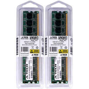 4GB KIT 2 x 2GB Dell PowerEdge R415 R510 R710 T110 II PC3-8500 Server Memory RAM