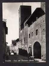 Cartolina Certaldo Casa del Boccaccio ANIMATA I257