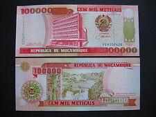 MOZAMBIQUE  100000 Meticais 16.6.1993  (P139)  UNC