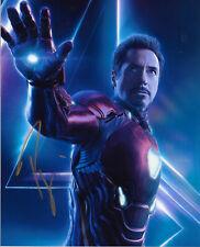 Robert Downey Jr Ironman Original Autogramm 8X10 Foto #2 - Chaplin