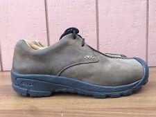 EXCELLENT Keen Men Boston III US 12 Brown Leather Lace Up Walking Comfort C8