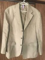 Brooks Brothers Hemp Tailored Jacket Size L