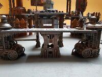 Warhammer 40k terrain -72mm high industrial platform legs Type 2 - 2 pack