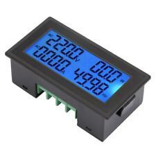 Digital Panel Meter AC Voltmeter Frequency Volt Amp Power Energy Meter 60~500V