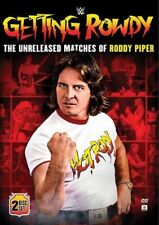 WWE: GETTING ROWDY - THE UNRELEASED MATCHES OF RODDY PIPER DVD
