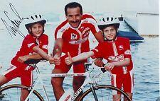 CYCLISME repro PHOTO cycliste URS FREULER équipe CREDIT SUISSE signée