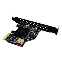 Add On Card Pci Express 3.0 Usb 3.1 Pci-E Card Pcie Usb Adapter Raiser TypeE4K3