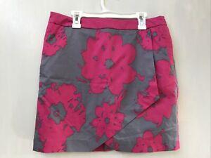 NWT FAIRWAY FOX WOMEN'S SKORT SIZE 4 PINK/GRAY Floral