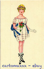 Postcard Art Deco - Mela Koehler Style - Bambina Child - L171
