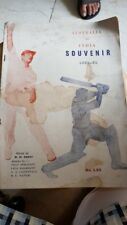 Old Vintage Cricket Souvenir Magazine from India 1959