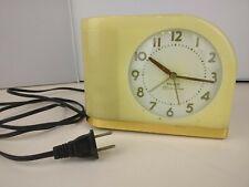 Westclox Big Ben Moon Beam Yellow Alarm Clock  *see description*