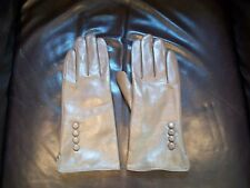 Womens Acrylic/Pelle Dress/Driving Gloves-Brown Size XL NEW