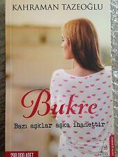 Bukre    Kahraman Tazeoglu  Turkce kitap   Turkish Book