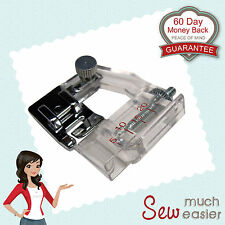 Adjustable Bias Binding Foot for Janome Sewing Machine Brother Singer Machines