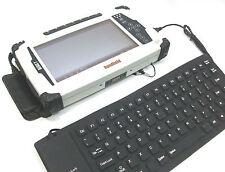 Leica iCon CC60 / CC61 Tablet External Flexible USB Keyboard, Water-Resistant!