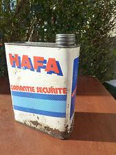 alt Kanister Öl Hafa Garantie Sicherheit Vakuum Deko Garage vintage Baujahre 50