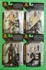 Star Wars - Black Series - Archive - Lot of 4 - w/Tusken Raider & Death Trooper