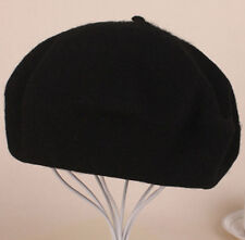 Plain Beret Hat Wool French Beret Winter Autumn Women | Girls Fashion Hats
