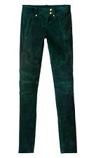 BALMAIN H&M Suede Biker Pants Size 10 Nwt