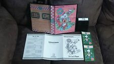 Ultra Rare Intellivision DINER & Instructions Booklet (Custom Overlays & Box)