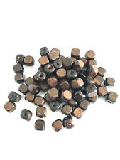 300 pcs Brown Wood Beads 8mm Square Bead Jewelry Making Wooden Tool Craft x3