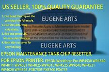 Epson Maintenance Tank Chip Resetter WP4521 WP4020 WP4595 PXB750F PXB700 PX675F