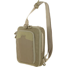 Maxpedition Mini Valence Tactical Tech Sling Bag Travel Laptop Tablet Pack Tan