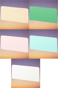 New SLÄKT Headboard, birch, green, pale pink, pale turquoise or white Brand IKEA