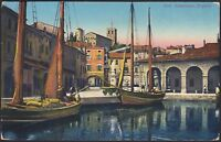 AX3838 Desenzano del Garda (BS) - Il Porto - Cartolina postale - Postcard
