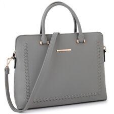 Women Handbags Faux Leather Work Satchel Tote Laptop Shoulder Briefcase Day Bag