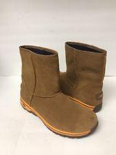 Ugg Big Kid's Lynden Suede Boots Size 6 Color Chestnut