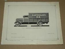 Planche l'Auto carrosserie  Camion Baché SAURER 2 BRD prospectus brochure