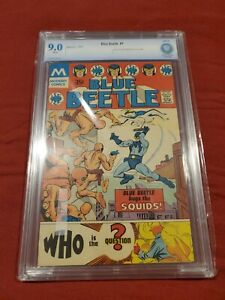 BLUE BEETLE #1 1st App. of The Question Graded 9.0! CBCS NOT CGC! REPRINT
