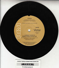 """FRIDA  I Know There's Something Going On ABBA 7"""" 45 rpm record + juke box strip"""