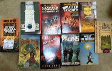 Vintage Lot of 10 Sci Fi Novels • Drake • Gerrold • Reaves • Dale • Todd