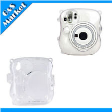 Fuji FujiFilm Instax MINI 25 Photo Polaroid Camera Crystal Protect Case - Clear