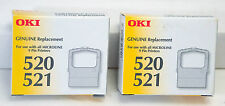 OKI 520 521  genuine replacement cartridge ribbon - quantity of 2