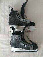 BAUER SUPREME SILVER COMP MENS ICE HOCKEY SKATES (WITH OUT LACES) - SIZE US10R