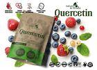 Quercetin 500mg Best Vegan Capsules 98% Extract Strong Antiallergic Properties