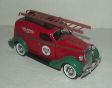 "NEAT CROWN PREMIUM DIECAST 7 1/2"" LONG 1935 FORD CONOCO FIRE PATROL TRUCK"