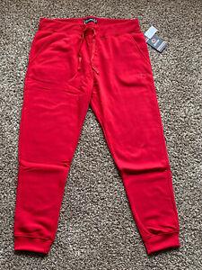 Akademiks Jogger Pants Men's 4XL 4XB 4X Logo Fleece Sweatpants Red