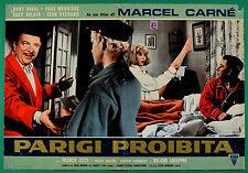 T63 FOTOBUSTA  PARIGI PROIBITA MARCEL CARNE' DANY SAVAL PAUL MAURISSE DELAIR 7