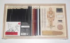 Coffrey Kit de Démarrage Esquisse et Dessin Figurine Bois NEUF