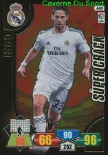 448 ISCO ESPANA REAL MADRID RARE SUPERCRACK CARD PANINI ADRENALYN LIGA 2014