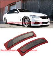 For 14-Up BMW F32 F33 F36 4-Series SMOKE Bumper Reflector Side Marker Lights