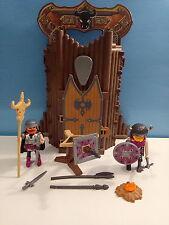 sympa donjon transportable 4774  playmobil ( chateau , chevalier ) 0436