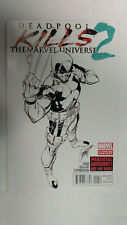 DEADPOOL KILLS THE MARVEL UNIVERSE #2  2nd Printing         / 2012 Marvel Comics